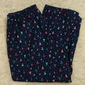 CUDDL DUDS Christmas Tree Pajama Pants